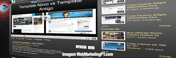 canal do webmarketingpt no youtube - homepage