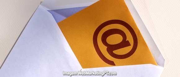 email marketing - taxa entrega