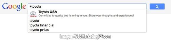 pesquisa paginas google+