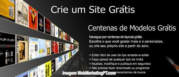 criar site gratis