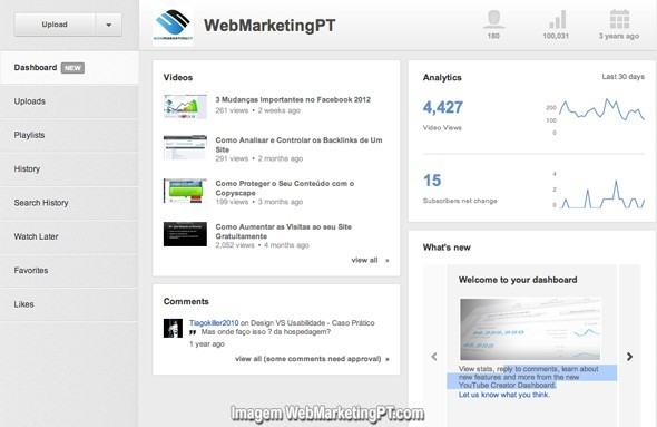 youtube-dashboard